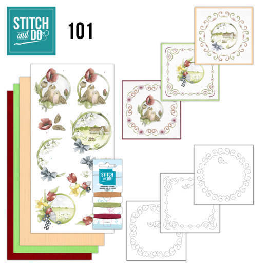 Stitch and Do 101 Spring life