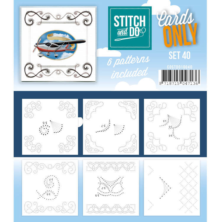 Cards only Stitch 40