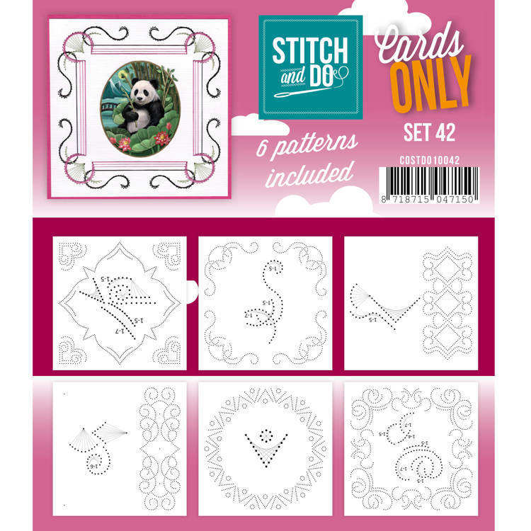 Cards only Stitch 42