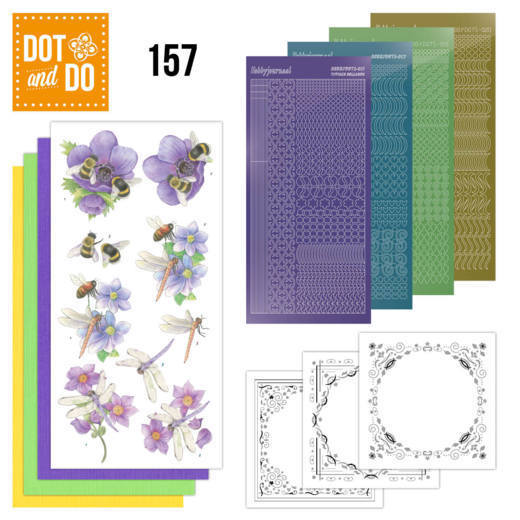 Dot and Do 157 Bees and Dragonflies
