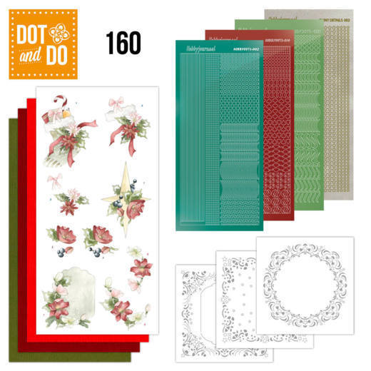 Dot and Do 160 Red Christmas Ornaments