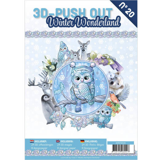 3D Pushout Book 20 Winter Wonderland.