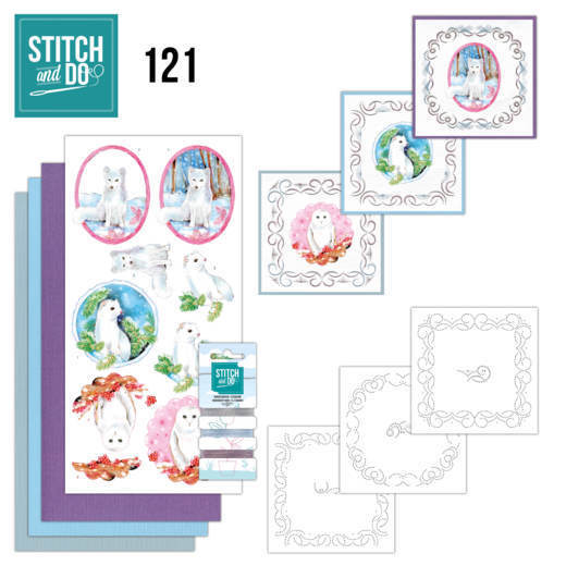 STDO121 Stitch and Do 121 - Winter Friends