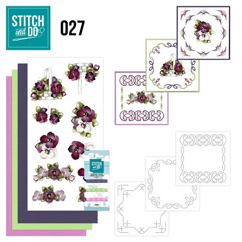 Stitch and Do 27 - Flowers