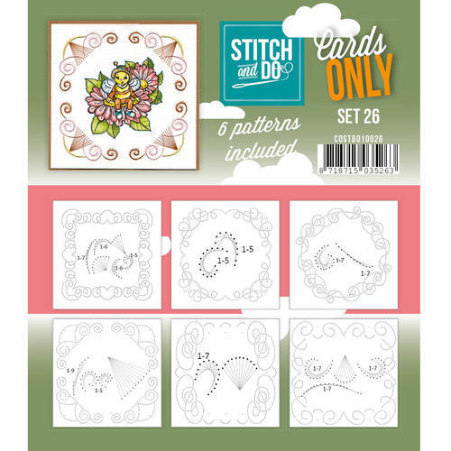 Stitch & Do - Cards only - Set 26