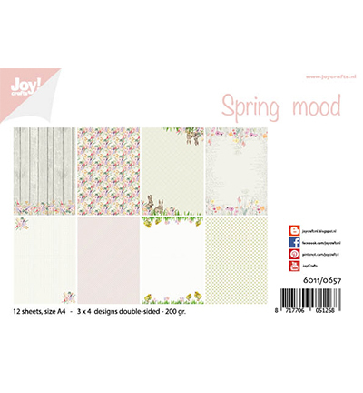 Papierset - Joy!Crafts - Design - Spring mood