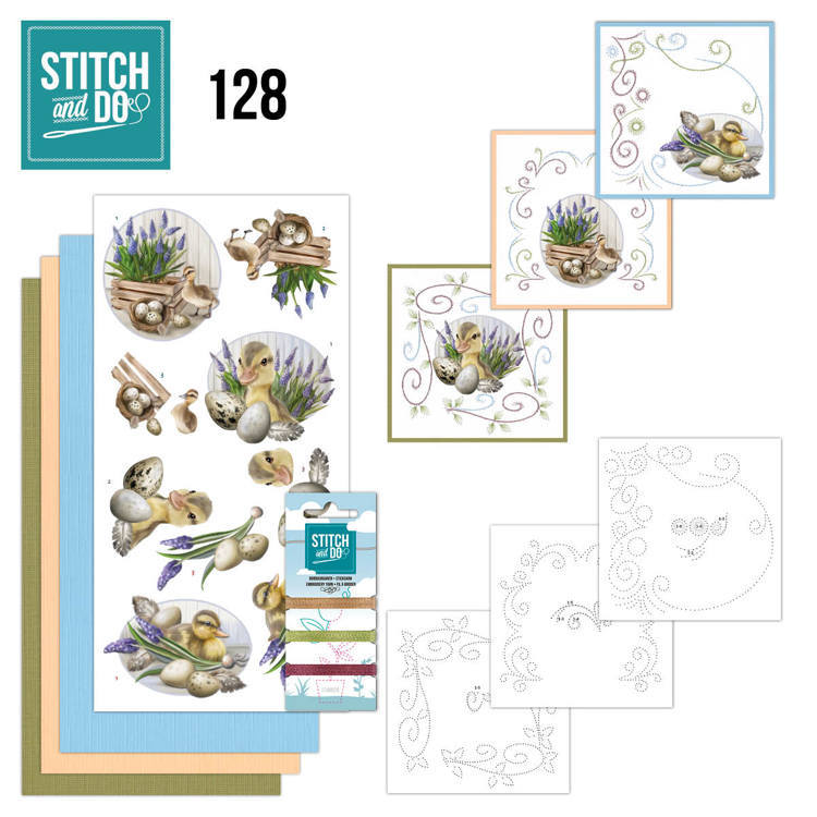 Stitch and Do 128 - Amy Design - Botanical Spring.