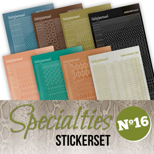 Specialties 16 - Stickerset