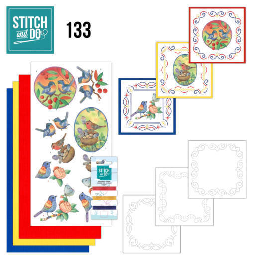 Stitch and Do 133 - Jeanine's Art - Blue Birds