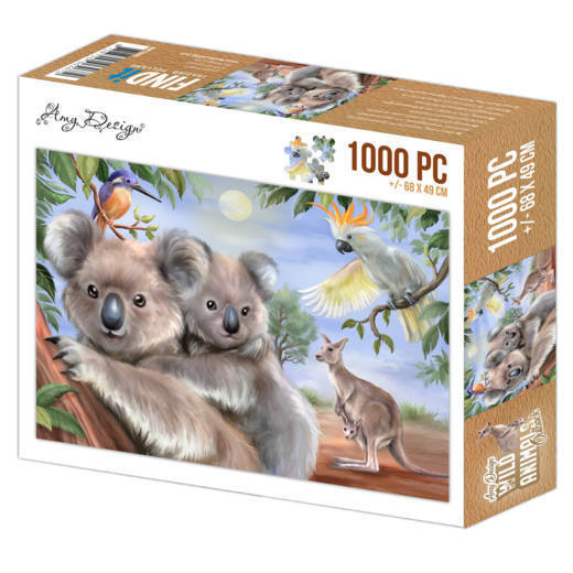 Puzzle 1000 pc - Amy Design - Wild Animals Outback