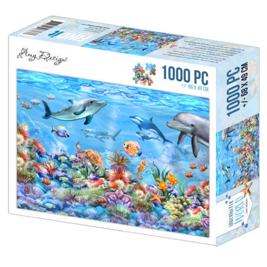 Puzzle 1000 pc - Amy Design - Underwater World