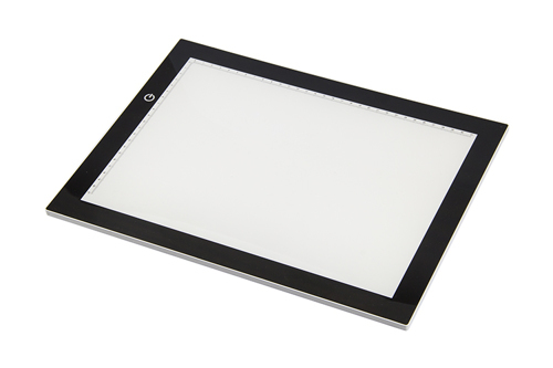 LED, ultra thin Light table (3 different adjustable brightness levels)  Nellie's Choice  CrossCraft