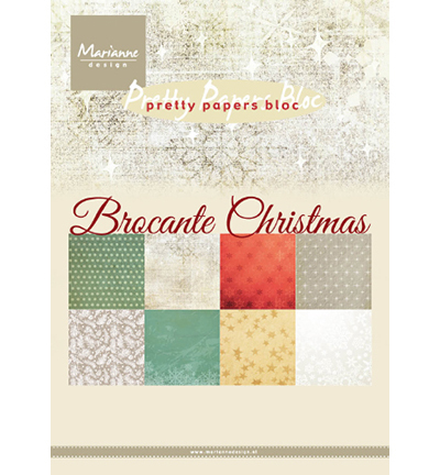 Pretty Papers Blocks - Marianne Design - Brocante Christmas