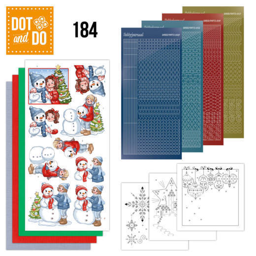 DODO184 Dot and Do 184 - Yvonne Creations - Bubbly Girls - Christmas