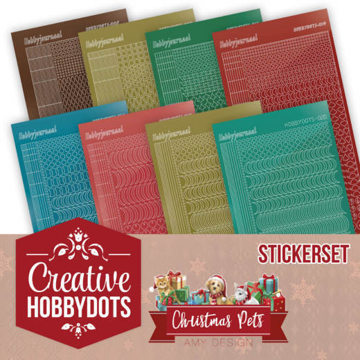 Creative Hobbydots 5 - Amy Design - Christmas Pets - Sticker Set