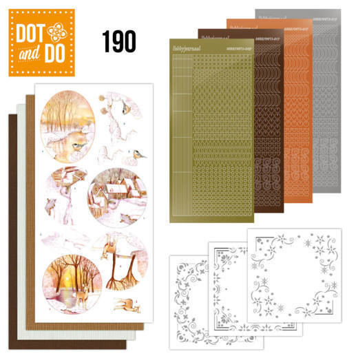 DODO190 Dot and Do 190 - Jeanine's Art - Yellow Forest