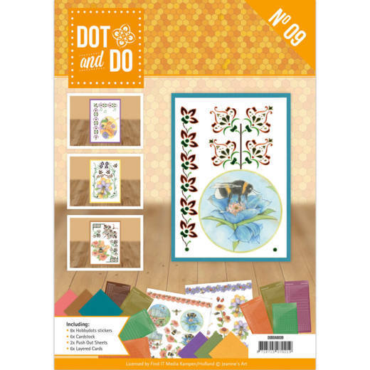 DODOA6009 Dot and Do Boek 9 - Jeanine's Art