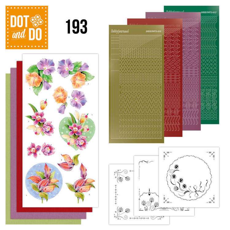 DODO193 Dot and Do 193 - Jeanine's Art - Orchid