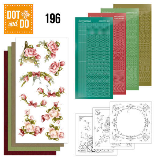 DODO196 Dot and Do 196 - Precious Marieke - Romantic Roses
